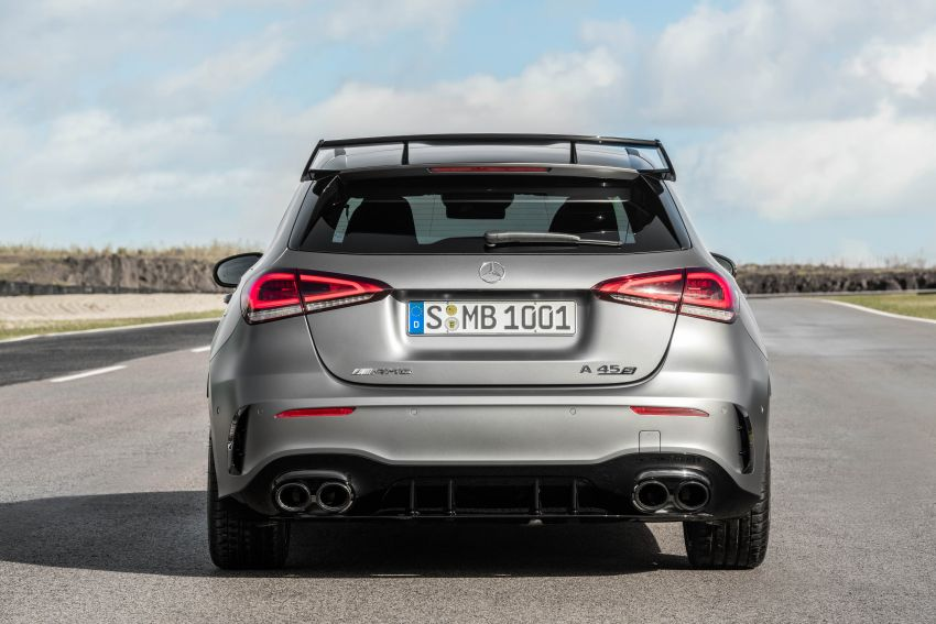 W177 Mercedes-AMG A45 4Matic+ debuts with up to 421 PS, 500 Nm – 0-100 km/h in 3.9s; Drift mode Image #981651