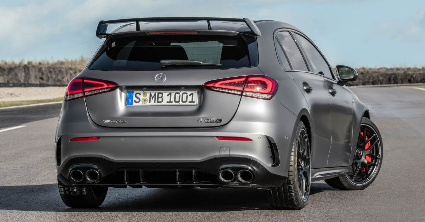 W177 Mercedes-AMG A45 4Matic+ debuts with up to 421 PS, 500 Nm – 0-100 km/h in 3.9s; Drift mode Image #981653