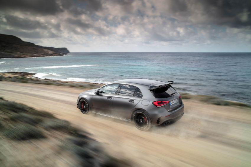 W177 Mercedes-AMG A45 4Matic+ debuts with up to 421 PS, 500 Nm – 0-100 km/h in 3.9s; Drift mode Image #981601