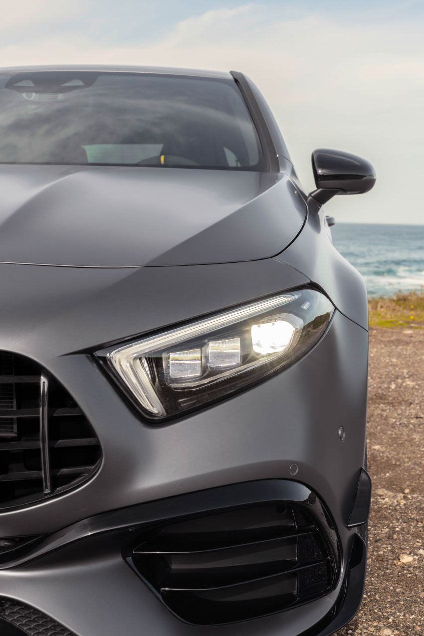 W177 Mercedes-AMG A45 4Matic+ debuts with up to 421 PS, 500 Nm – 0-100 km/h in 3.9s; Drift mode Image #981665