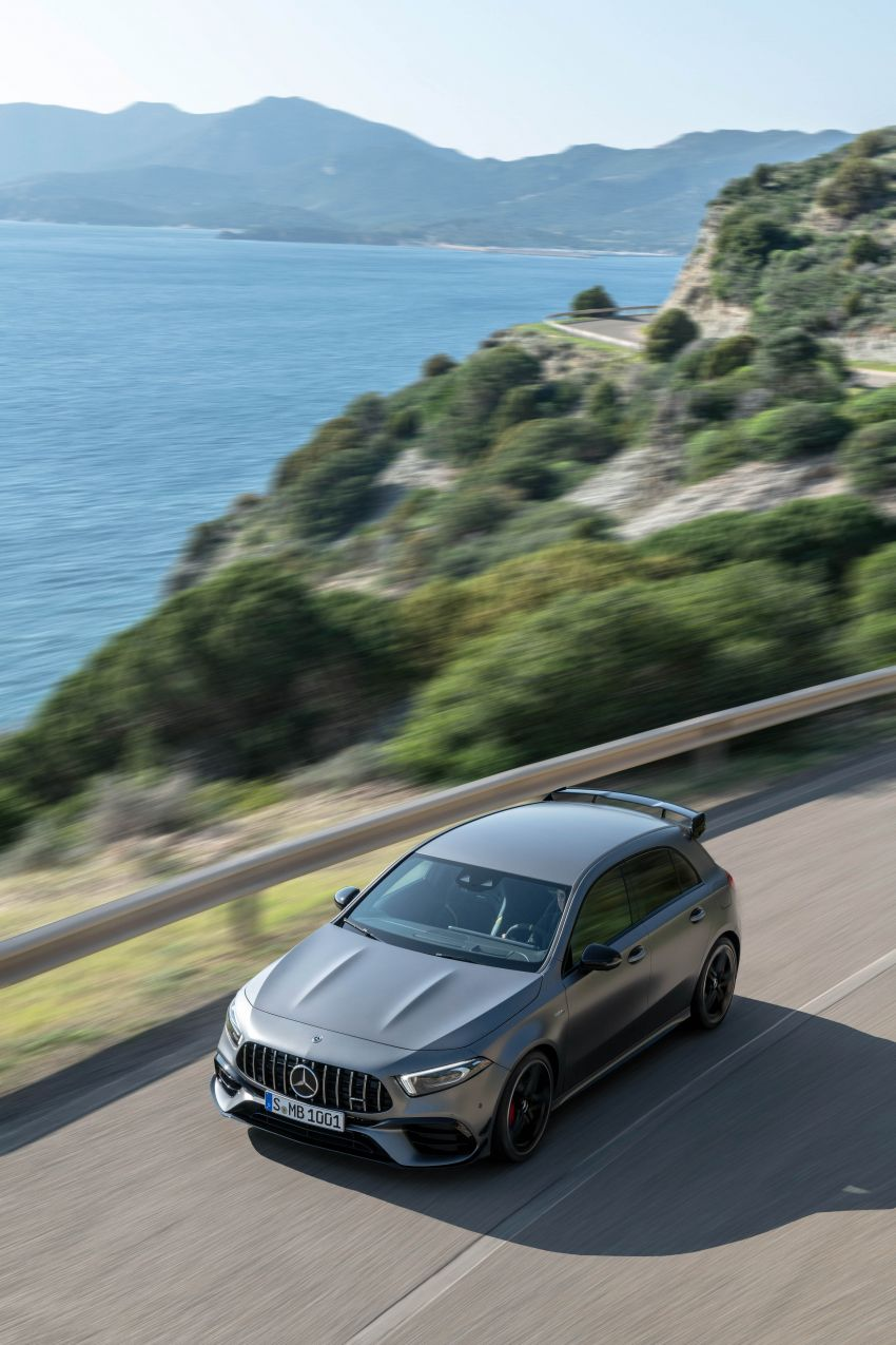 W177 Mercedes-AMG A45 4Matic+ debuts with up to 421 PS, 500 Nm – 0-100 km/h in 3.9s; Drift mode Image #981667