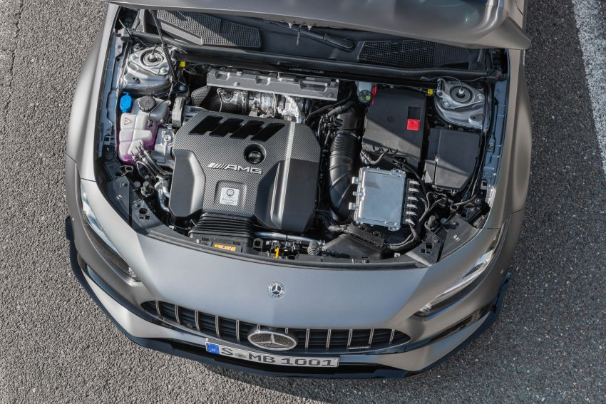 W177 Mercedes-AMG A45 4Matic+ debuts with up to 421 PS, 500 Nm – 0-100 km/h in 3.9s; Drift mode Image #981668