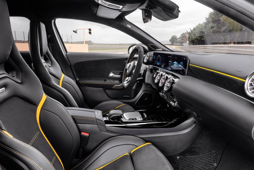W177 Mercedes-AMG A45 4Matic+ debuts with up to 421 PS, 500 Nm – 0-100 km/h in 3.9s; Drift mode Image #981603