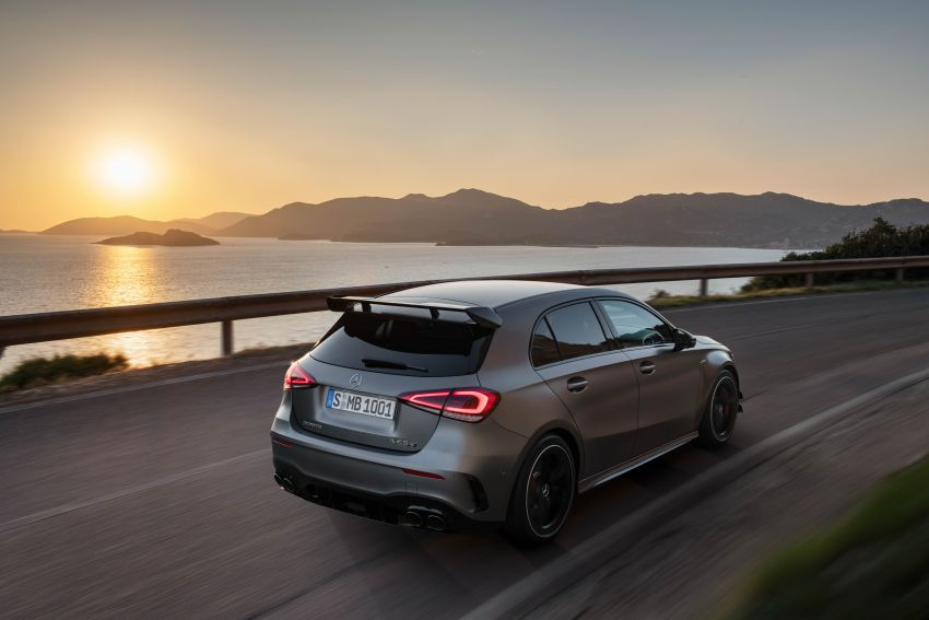 W177 Mercedes-AMG A45 4Matic+ debuts with up to 421 PS, 500 Nm – 0-100 km/h in 3.9s; Drift mode Image #981670