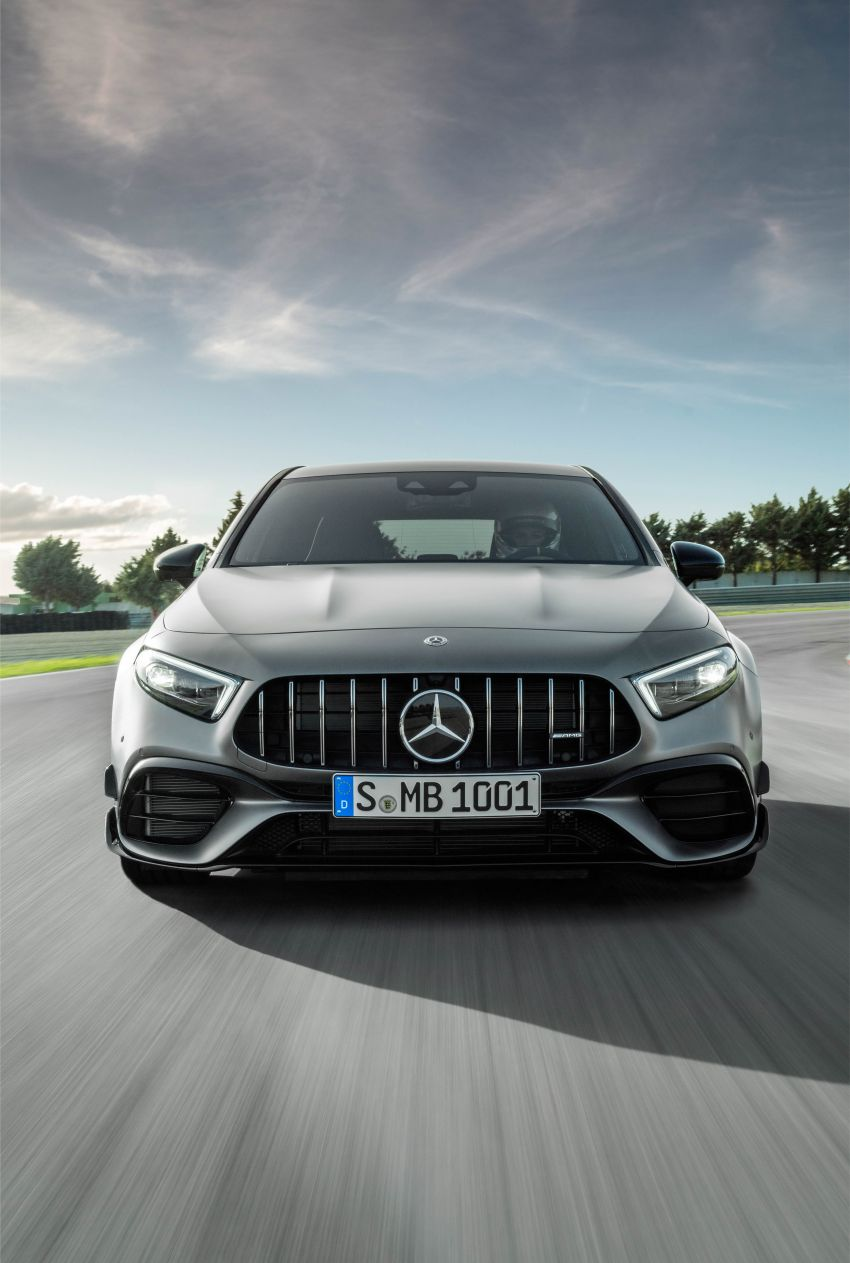 W177 Mercedes-AMG A45 4Matic+ debuts with up to 421 PS, 500 Nm – 0-100 km/h in 3.9s; Drift mode Image #981671