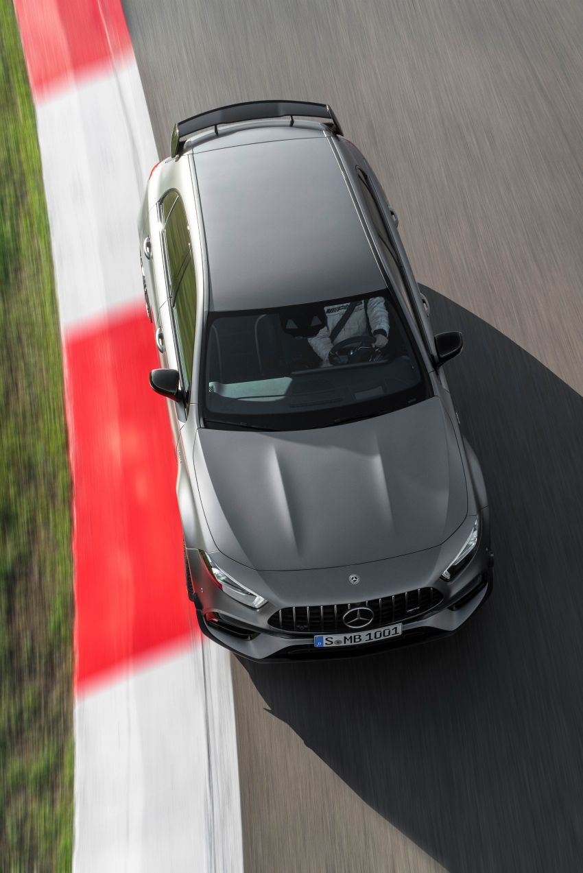 W177 Mercedes-AMG A45 4Matic+ debuts with up to 421 PS, 500 Nm – 0-100 km/h in 3.9s; Drift mode Image #981673