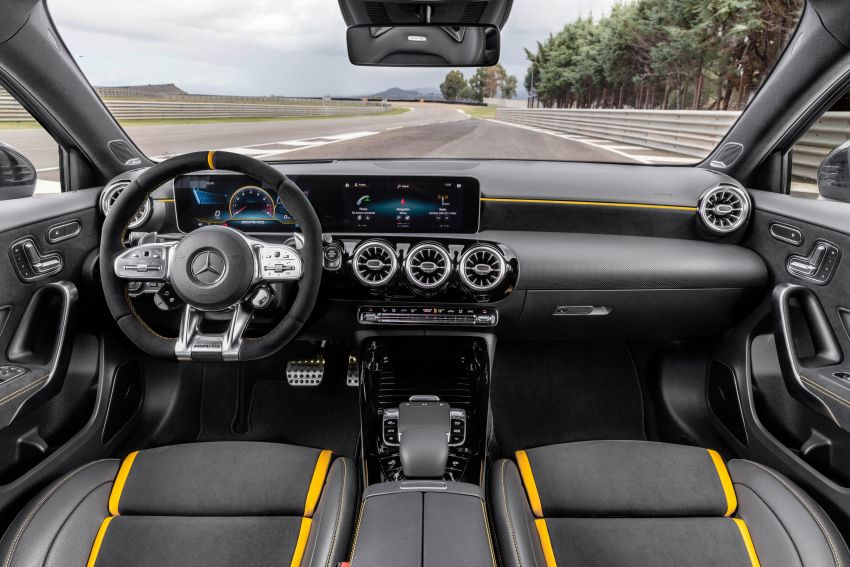 W177 Mercedes-AMG A45 4Matic+ debuts with up to 421 PS, 500 Nm – 0-100 km/h in 3.9s; Drift mode Image #981606