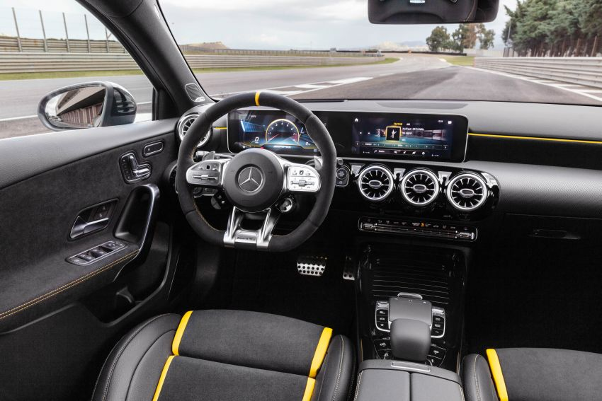 W177 Mercedes-AMG A45 4Matic+ debuts with up to 421 PS, 500 Nm – 0-100 km/h in 3.9s; Drift mode Image #981608