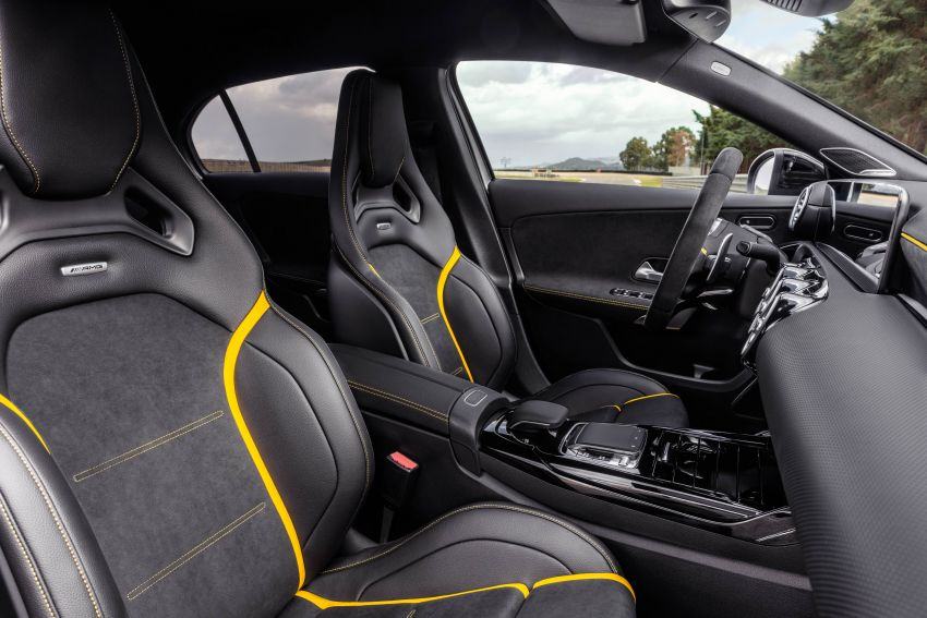 W177 Mercedes-AMG A45 4Matic+ debuts with up to 421 PS, 500 Nm – 0-100 km/h in 3.9s; Drift mode Image #981610