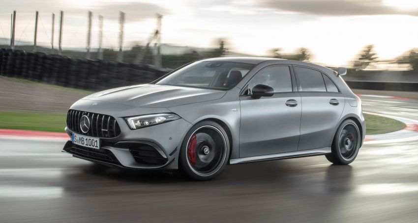 W177 Mercedes-AMG A45 4Matic+ debuts with up to 421 PS, 500 Nm – 0-100 km/h in 3.9s; Drift mode Image #981612