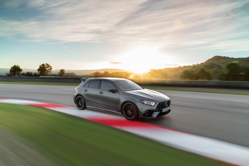 W177 Mercedes-AMG A45 4Matic+ debuts with up to 421 PS, 500 Nm – 0-100 km/h in 3.9s; Drift mode Image #981614