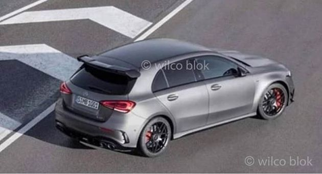 New Mercedes-AMG A45 gets leaked ahead of debut