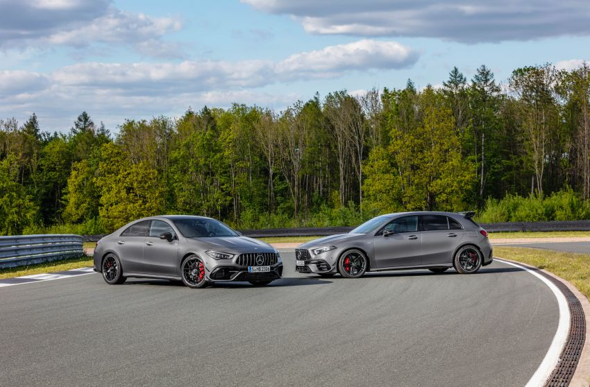 W177 Mercedes-AMG A45 4Matic+ debuts with up to 421 PS, 500 Nm – 0-100 km/h in 3.9s; Drift mode Image #981591
