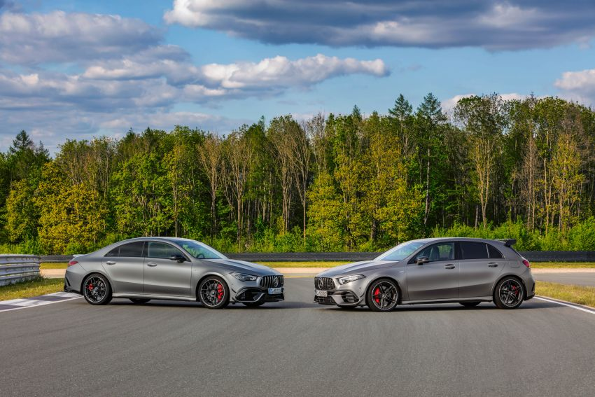W177 Mercedes-AMG A45 4Matic+ debuts with up to 421 PS, 500 Nm – 0-100 km/h in 3.9s; Drift mode Image #981592