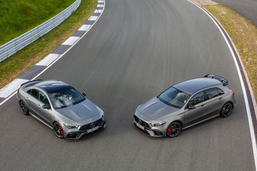W177 Mercedes-AMG A45 4Matic+ debuts with up to 421 PS, 500 Nm – 0-100 km/h in 3.9s; Drift mode Image #981593