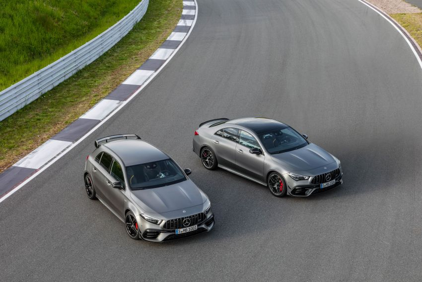 W177 Mercedes-AMG A45 4Matic+ debuts with up to 421 PS, 500 Nm – 0-100 km/h in 3.9s; Drift mode Image #981594