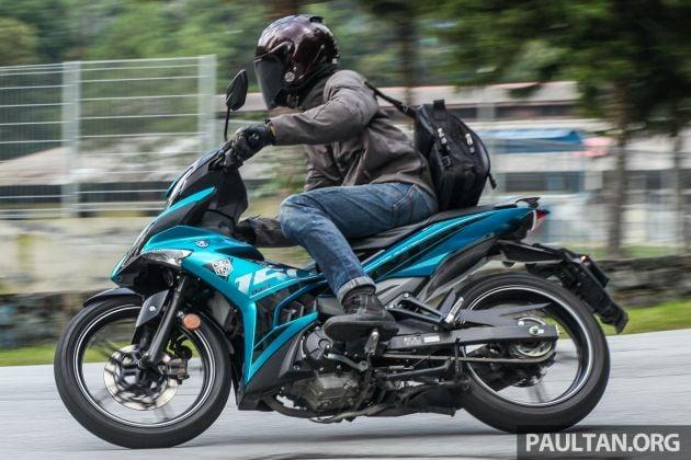 Malaysian police crack down on Yamaha Y15ZR mods