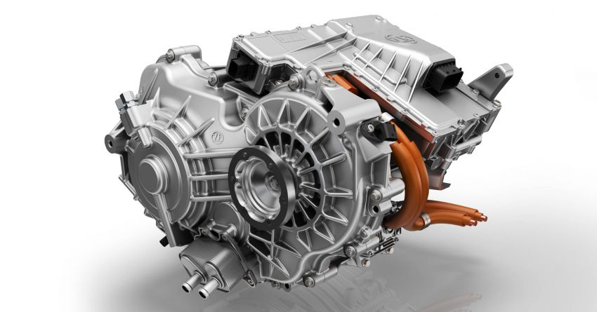 ZF presents new two-speed drive unit for electric cars Image #987693