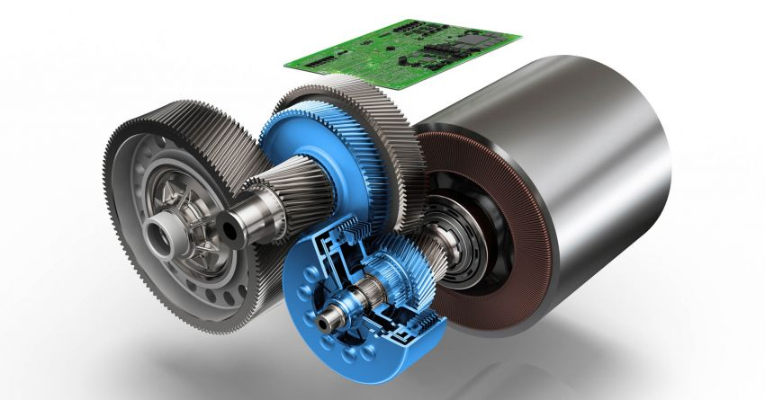 ZF presents new two-speed drive unit for electric cars Image #987694