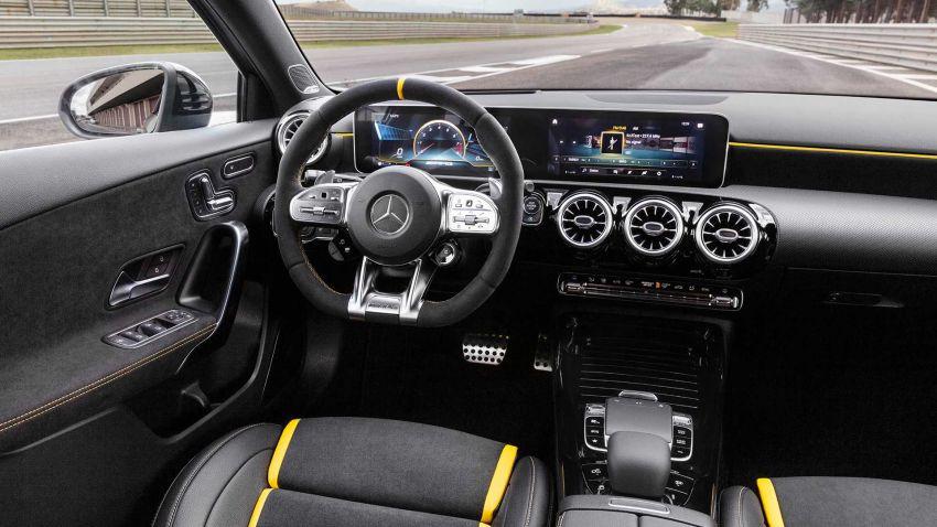 Mercedes-AMG A45  S muncul di Goodwood – 2.0L turbo, 421 PS/500 Nm, 0-100 km/j 3.9 saat, boleh drift! Image #981714