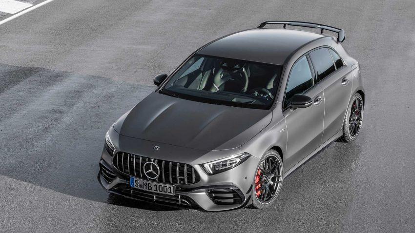 Mercedes-AMG A45  S muncul di Goodwood – 2.0L turbo, 421 PS/500 Nm, 0-100 km/j 3.9 saat, boleh drift! Image #981710