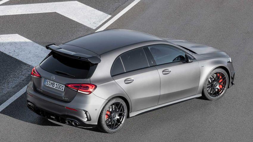 Mercedes-AMG A45  S muncul di Goodwood – 2.0L turbo, 421 PS/500 Nm, 0-100 km/j 3.9 saat, boleh drift! Image #981709