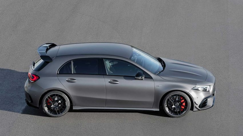Mercedes-AMG A45  S muncul di Goodwood – 2.0L turbo, 421 PS/500 Nm, 0-100 km/j 3.9 saat, boleh drift! Image #981708