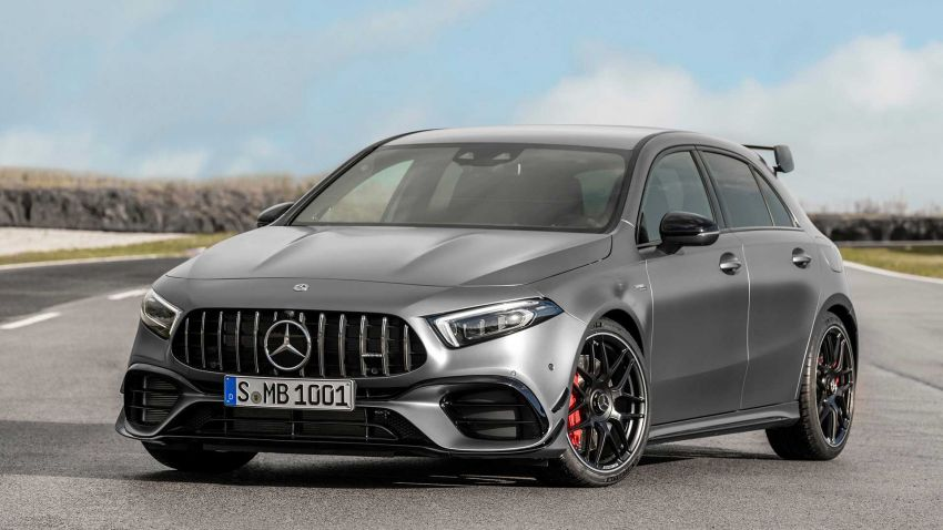 Mercedes-AMG A45  S muncul di Goodwood – 2.0L turbo, 421 PS/500 Nm, 0-100 km/j 3.9 saat, boleh drift! Image #981706