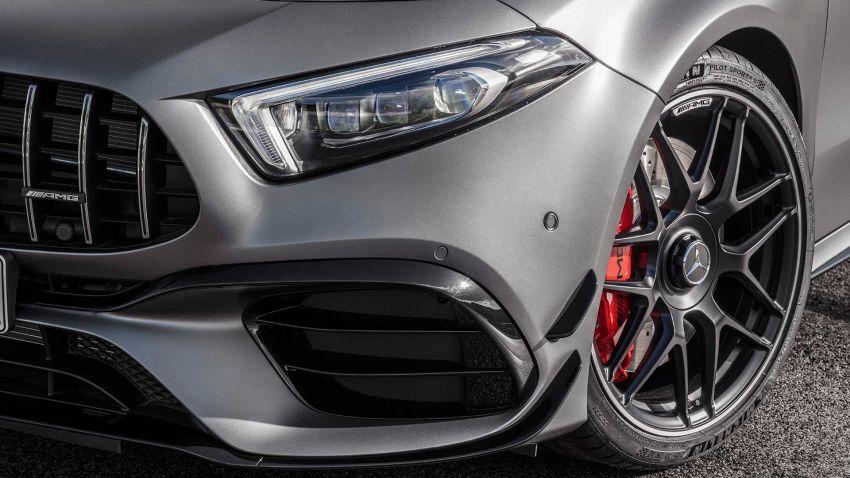 Mercedes-AMG A45  S muncul di Goodwood – 2.0L turbo, 421 PS/500 Nm, 0-100 km/j 3.9 saat, boleh drift! Image #981705