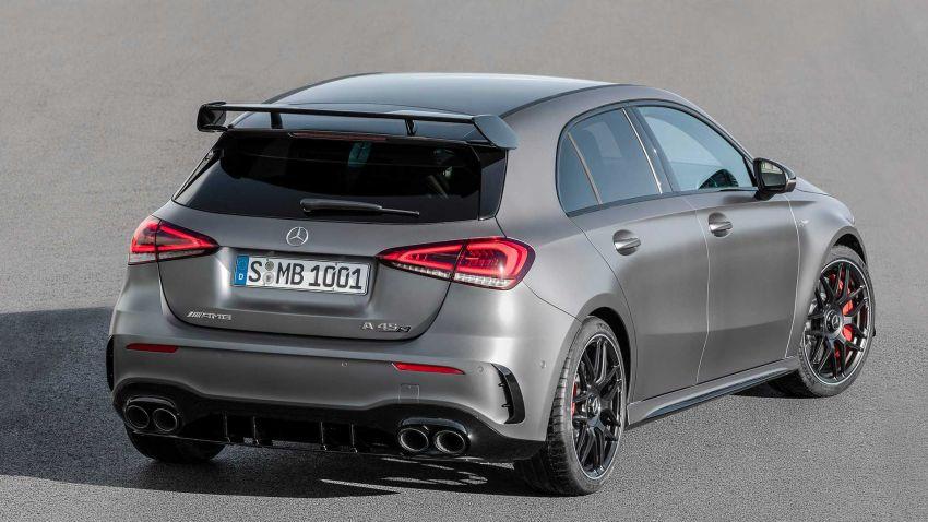 Mercedes-AMG A45  S muncul di Goodwood – 2.0L turbo, 421 PS/500 Nm, 0-100 km/j 3.9 saat, boleh drift! Image #981702