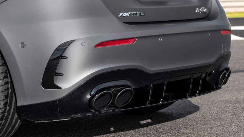 Mercedes-AMG A45  S muncul di Goodwood – 2.0L turbo, 421 PS/500 Nm, 0-100 km/j 3.9 saat, boleh drift! Image #981701