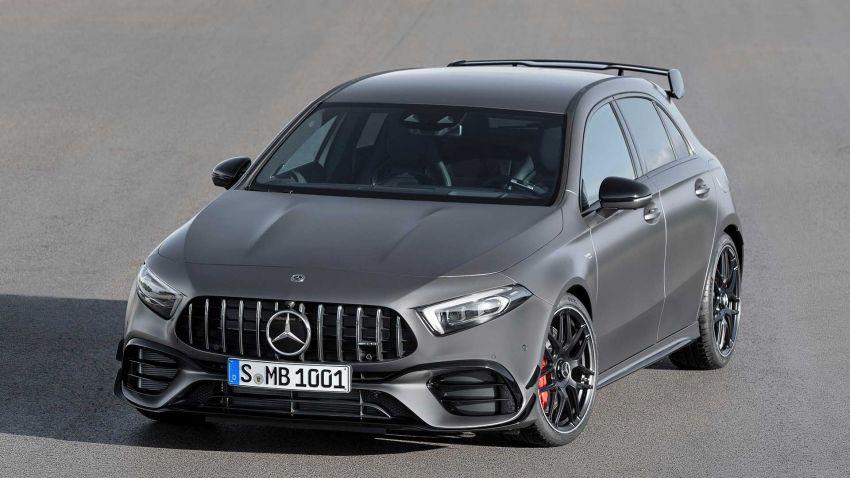 Mercedes-AMG A45  S muncul di Goodwood – 2.0L turbo, 421 PS/500 Nm, 0-100 km/j 3.9 saat, boleh drift! Image #981700