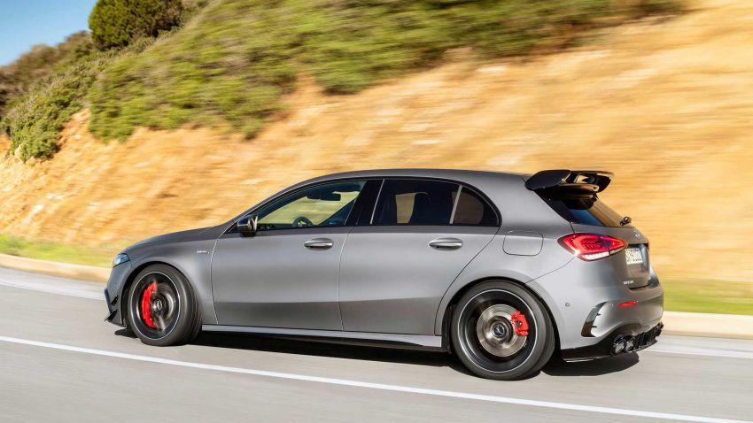 Mercedes-AMG A45  S muncul di Goodwood – 2.0L turbo, 421 PS/500 Nm, 0-100 km/j 3.9 saat, boleh drift! Image #981725