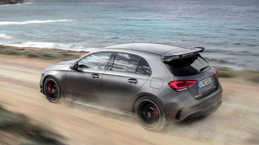 Mercedes-AMG A45  S muncul di Goodwood – 2.0L turbo, 421 PS/500 Nm, 0-100 km/j 3.9 saat, boleh drift! Image #981723
