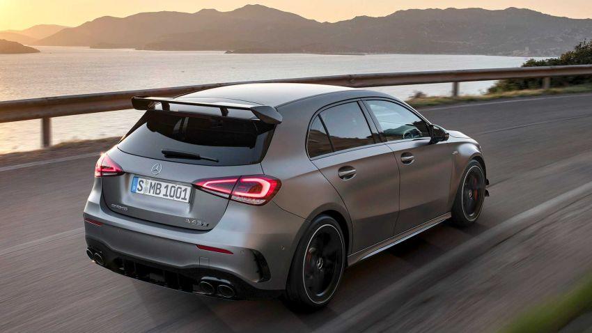 Mercedes-AMG A45  S muncul di Goodwood – 2.0L turbo, 421 PS/500 Nm, 0-100 km/j 3.9 saat, boleh drift! Image #981722