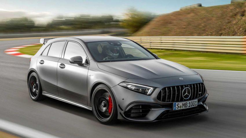 Mercedes-AMG A45  S muncul di Goodwood – 2.0L turbo, 421 PS/500 Nm, 0-100 km/j 3.9 saat, boleh drift! Image #981721