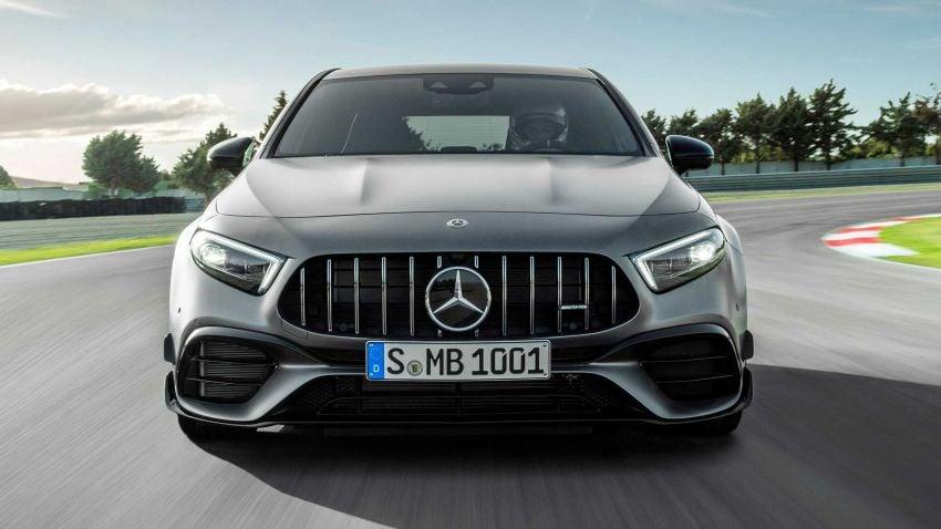 Mercedes-AMG A45  S muncul di Goodwood – 2.0L turbo, 421 PS/500 Nm, 0-100 km/j 3.9 saat, boleh drift! Image #981720