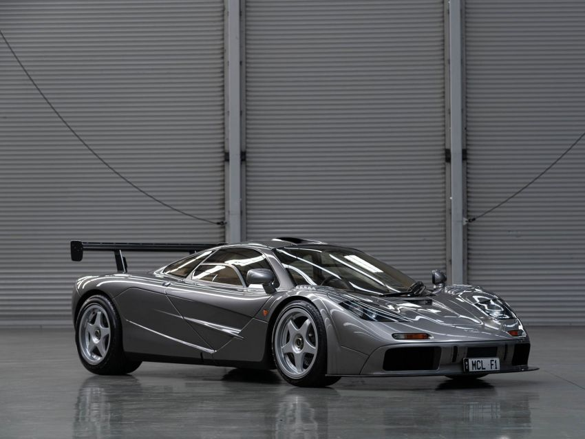 1994 McLaren F1 LM-Specification sold for US$19.805 million at RM Sotheby's auction – one of only two units Image #1003839