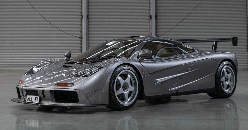 1994 McLaren F1 LM-Specification sold for US$19.805 million at RM Sotheby's auction – one of only two units Image #1003840