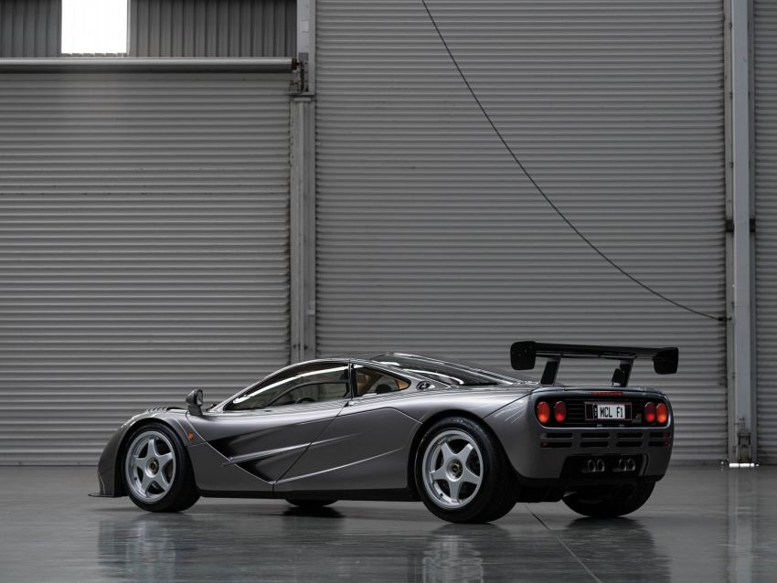 1994 McLaren F1 LM-Specification sold for US$19.805 million at RM Sotheby's auction – one of only two units Image #1003841