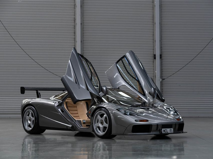 1994 McLaren F1 LM-Specification sold for US$19.805 million at RM Sotheby's auction – one of only two units Image #1003842