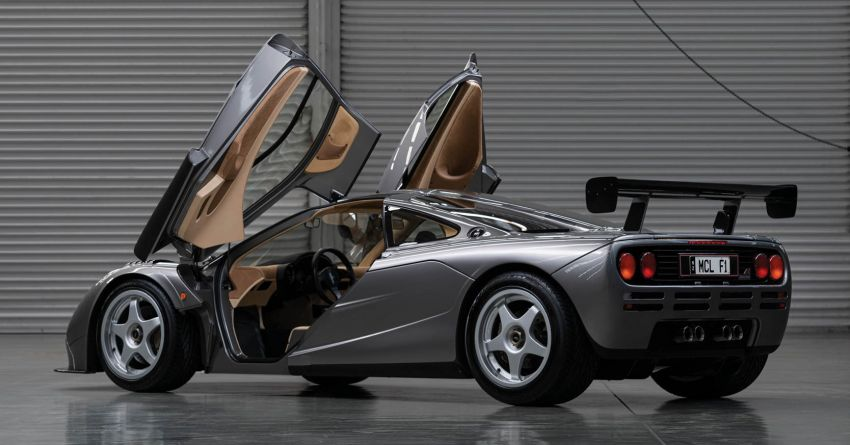 1994 McLaren F1 LM-Specification sold for US$19.805 million at RM Sotheby's auction – one of only two units Image #1003843
