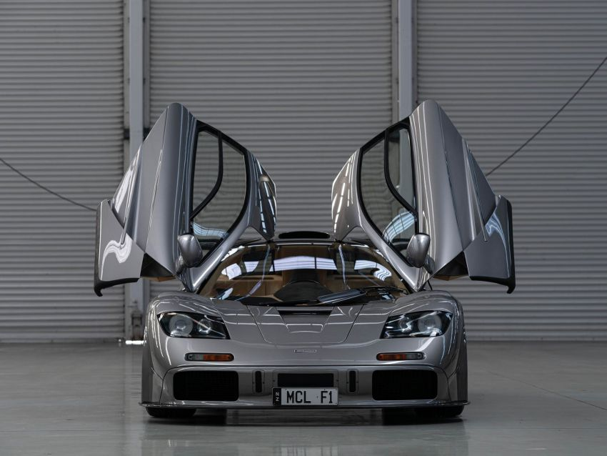1994 McLaren F1 LM-Specification sold for US$19.805 million at RM Sotheby's auction – one of only two units Image #1003846