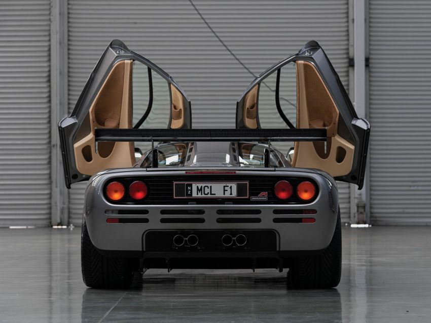 1994 McLaren F1 LM-Specification sold for US$19.805 million at RM Sotheby's auction – one of only two units Image #1003847