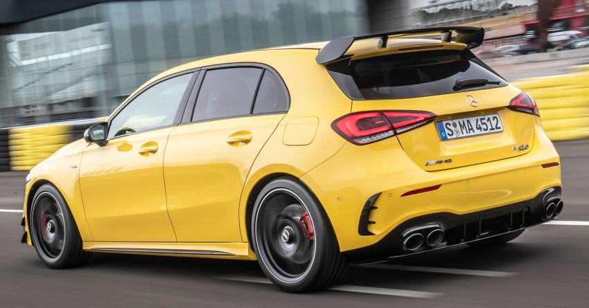 The new Mercedes-AMG performance compact cars Madrid 2019The new Mercedes-AMG performance compact cars Madrid 2019 Image #996630