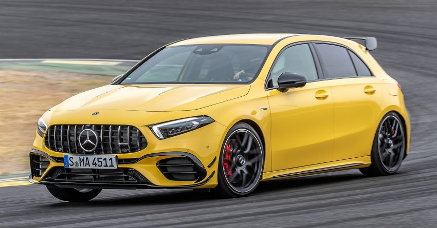 The new Mercedes-AMG performance compact cars Madrid 2019The new Mercedes-AMG performance compact cars Madrid 2019 Image #996632