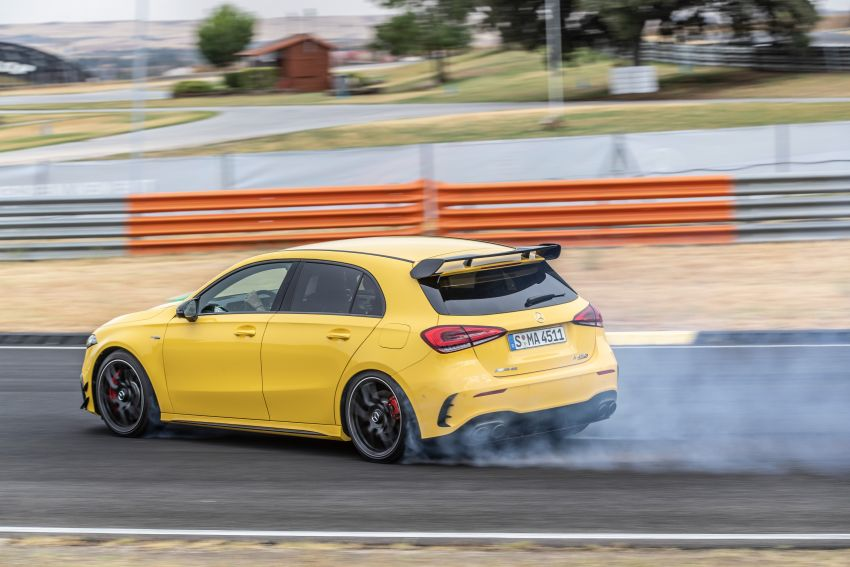 The new Mercedes-AMG performance compact cars Madrid 2019The new Mercedes-AMG performance compact cars Madrid 2019 Image #996634