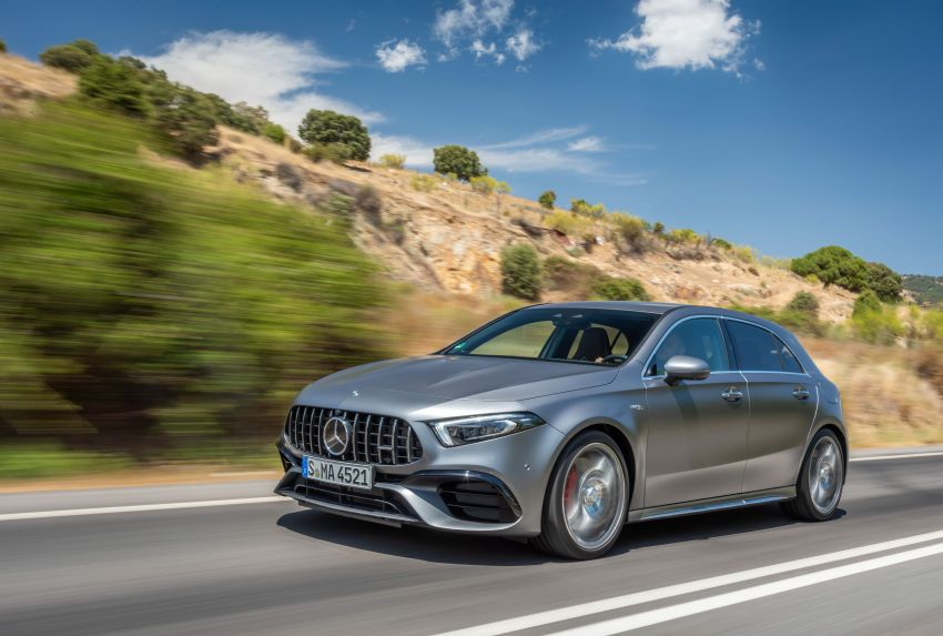 The new Mercedes-AMG performance compact cars Madrid 2019The new Mercedes-AMG performance compact cars Madrid 2019 Image #996636