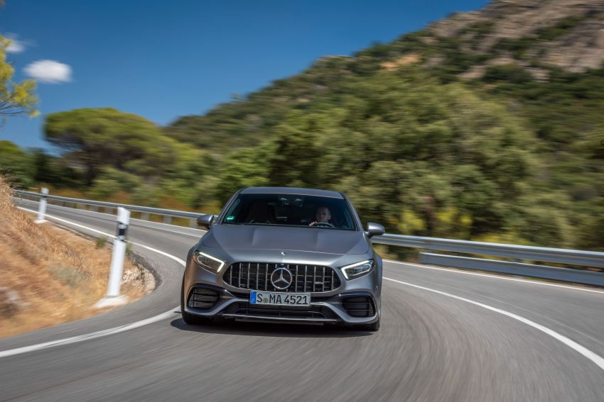 The new Mercedes-AMG performance compact cars Madrid 2019The new Mercedes-AMG performance compact cars Madrid 2019 Image #996637