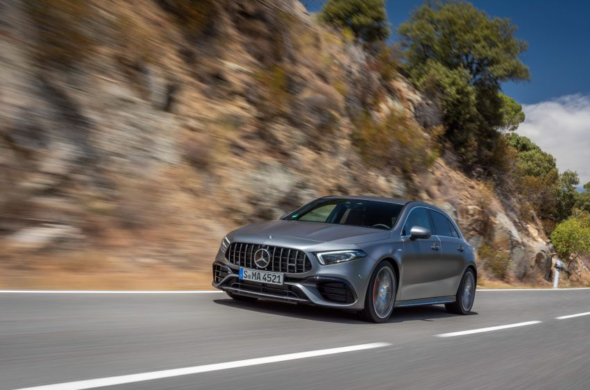 The new Mercedes-AMG performance compact cars Madrid 2019The new Mercedes-AMG performance compact cars Madrid 2019 Image #996638